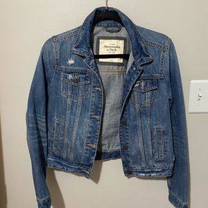 Ambercrombie and Fitch Jean jacket